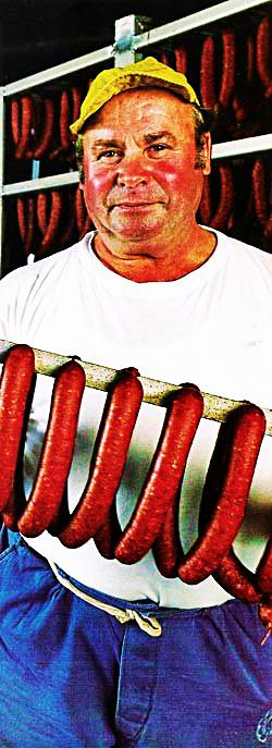 hungarian sausages