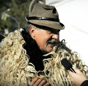 Shepherd costume from Hungarian goulash festival