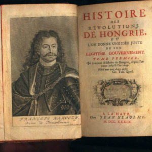 Francois Rakoczy - Prince of Transilvania