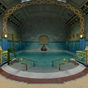 Gellért-bath Budapest - Feel like a Turkish Sultan