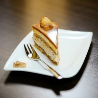 Brittle cake with honey from Milota