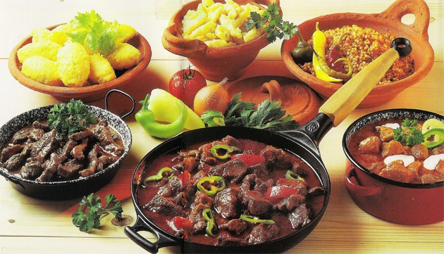 Traditional Hungarian dishes