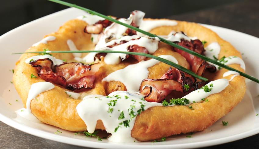 Hungarian lángos recipes