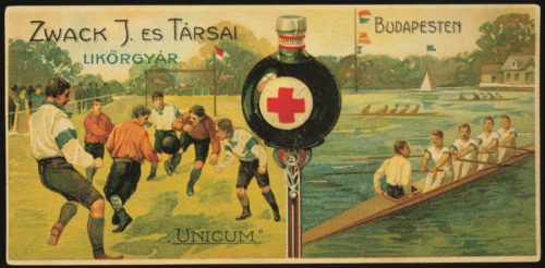 The Hungarian Unicum Liqueur
